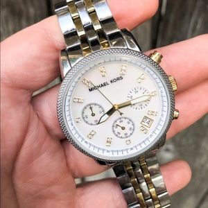 Ladies Michael Kors Ritz Chronograph Watch